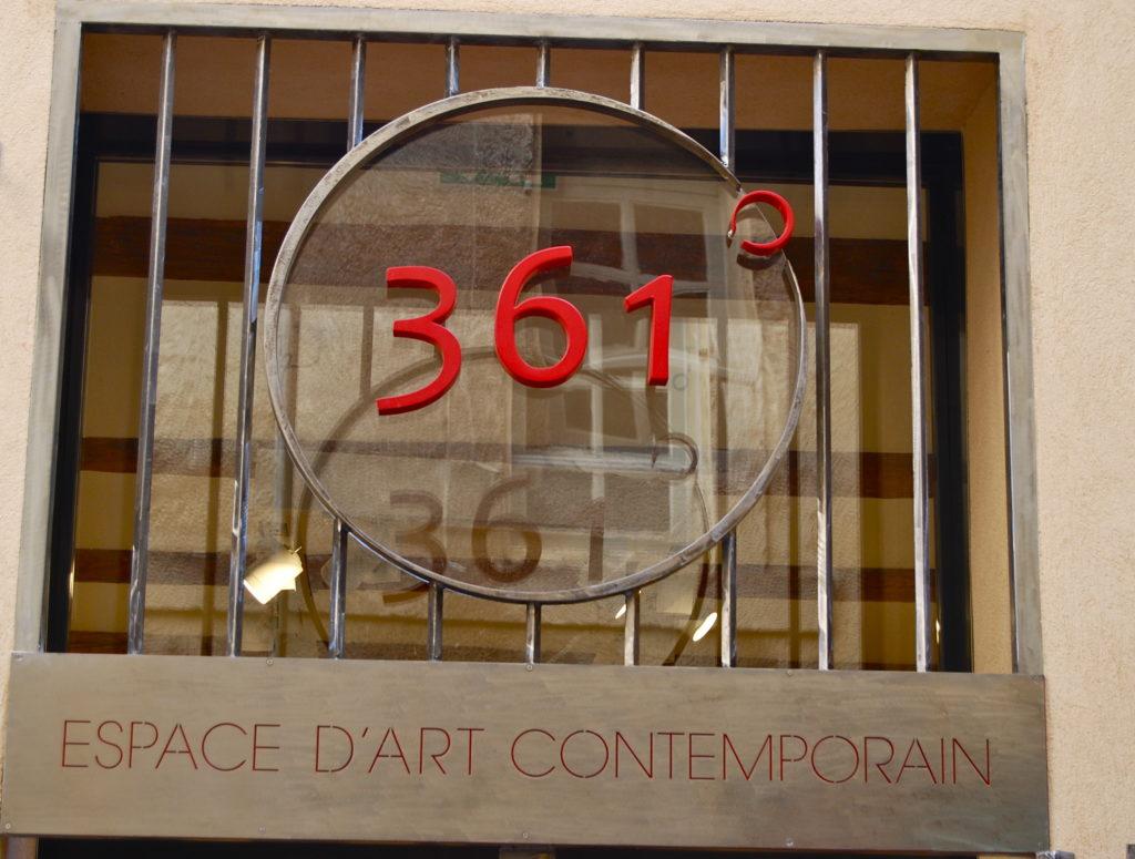 ITW filmée au sein de 361° – Espace d'Art Contemporain